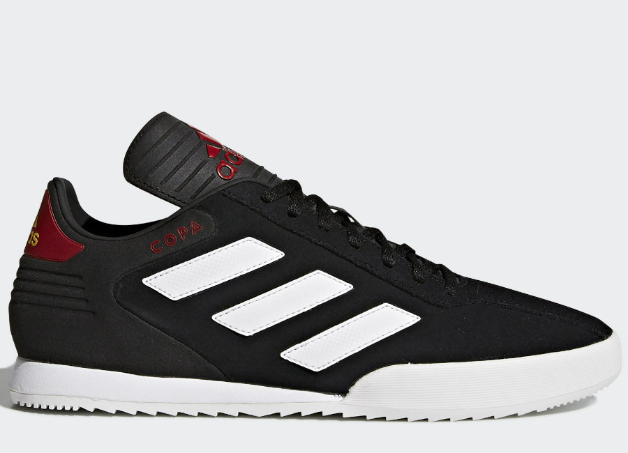 Adidas Copa Super Shoes - Running White / Black / University Red