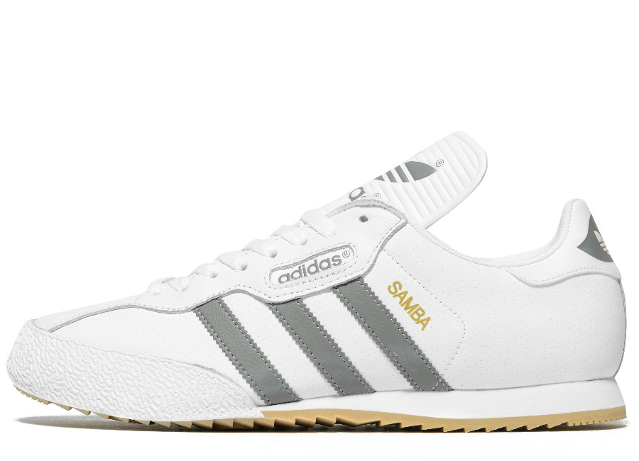 Adidas Samba Super White Grey