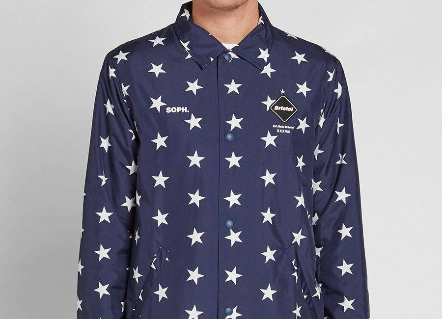 Fc Real Bristol Star Coach Jacket Navy