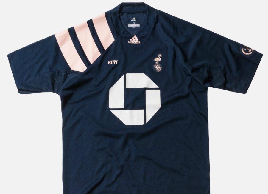 Kith X Adidas - Miami Flamingos Away Jersey - Navy