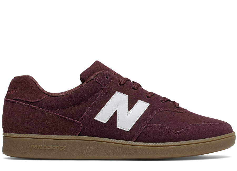 New Balance Suede 288 - Burgundy / White