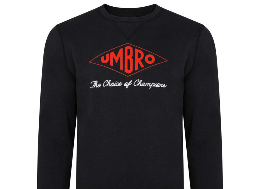 Umbro Choice Of Champions Sweat - Black / Red