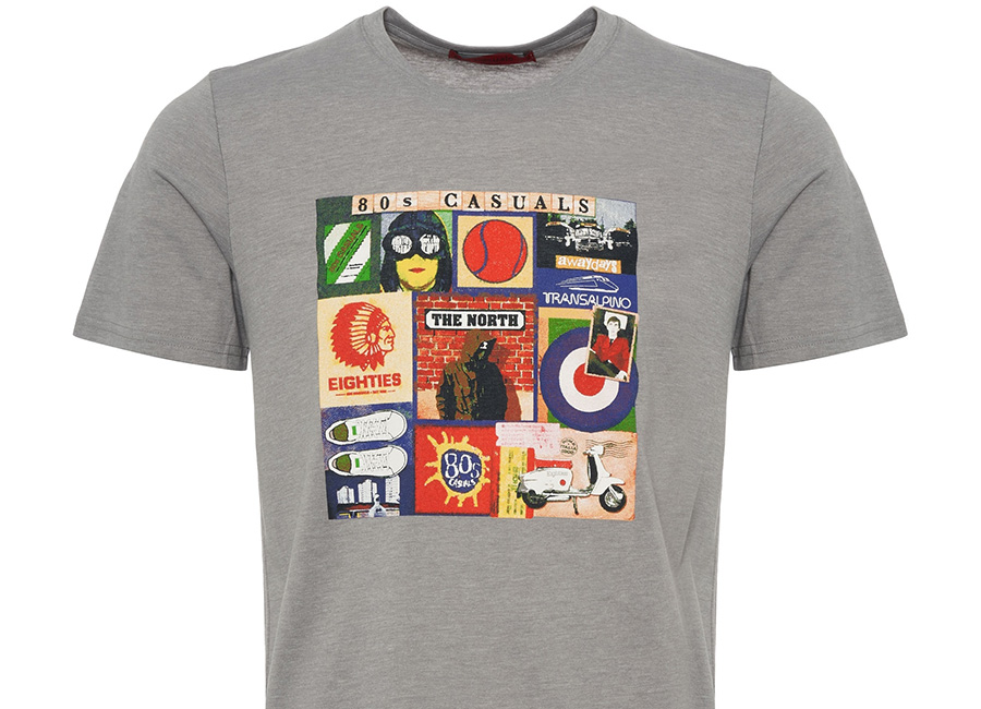 80's Casuals - Sources Of T-shirt - Gray