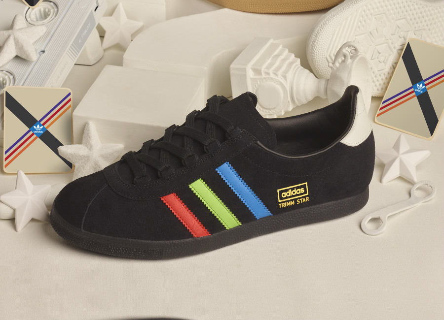 Adidas Archive Trimm Star VHS - Black / Blue / Green / Red