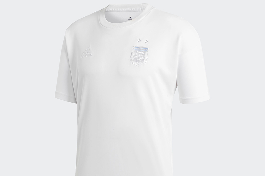 Adidas Argentina Seasonal Special Tee - White / Clear Blue
