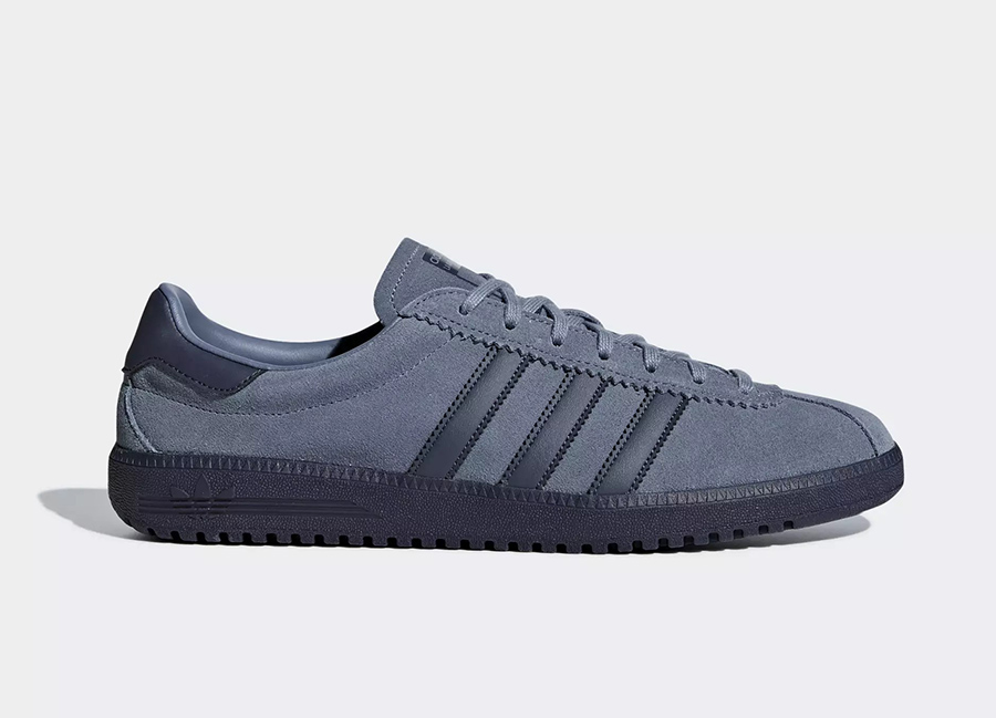 Adidas Bermuda Shoes - Raw Steel / Trace Blue / Trace Blue