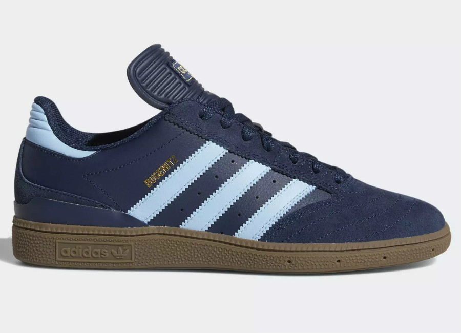 Adidas Busenitz Pro Shoes - Collegiate Navy / Clear Blue / Gum
