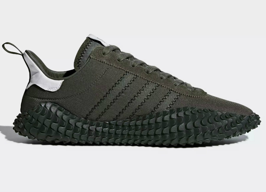 Adidas C.P. Company Kamanda Shoes - Night Cargo / Base Green / Trace Cargo