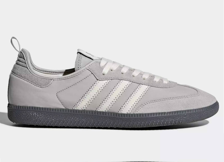 Adidas C.P. Company Samba Shoes - Clear Granite / Off White / Off White
