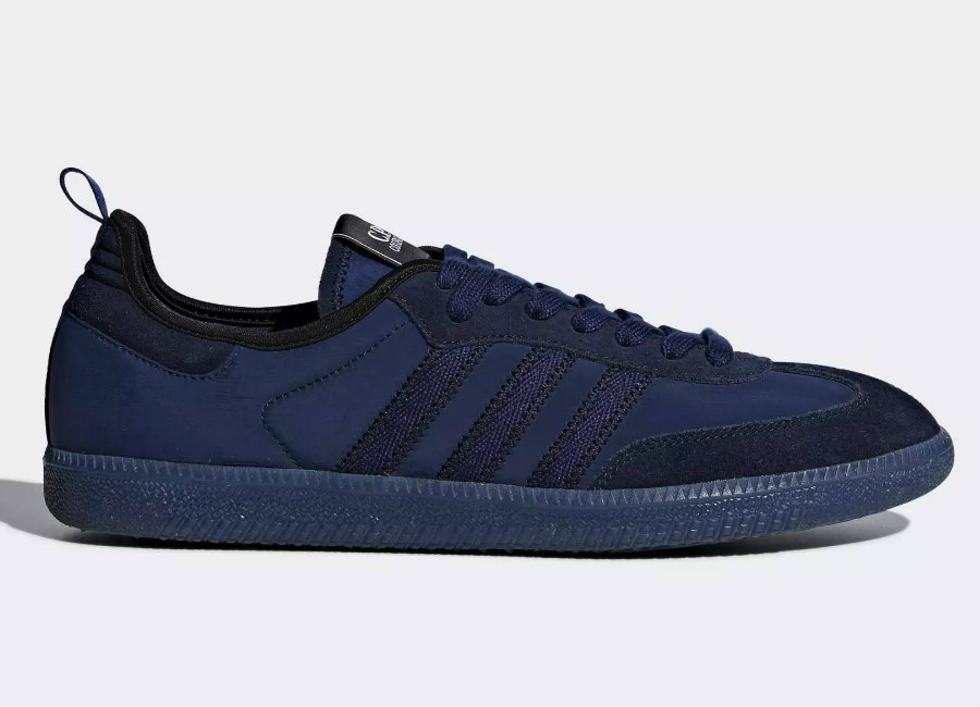 Adidas C.P. Company Samba Shoes - Dark Blue / Night Sky / Dark Purple