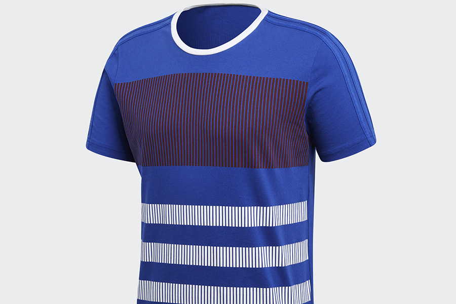 Adidas France Tee - Collegiate Royal / White