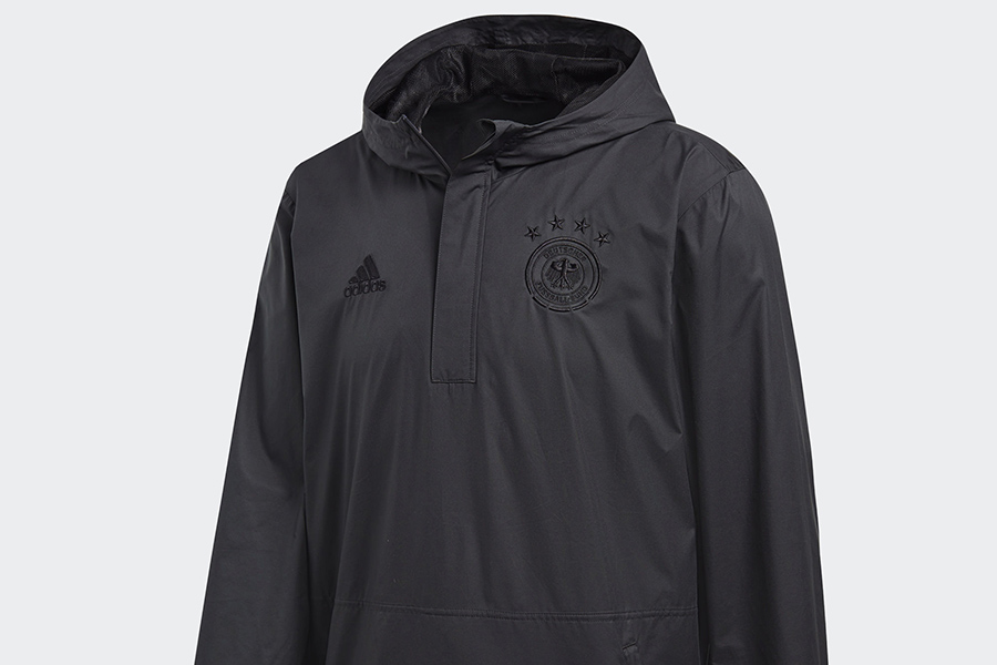 Adidas Germany Seasonal Special Wind Jacket - Dgh Solid Grey / Black