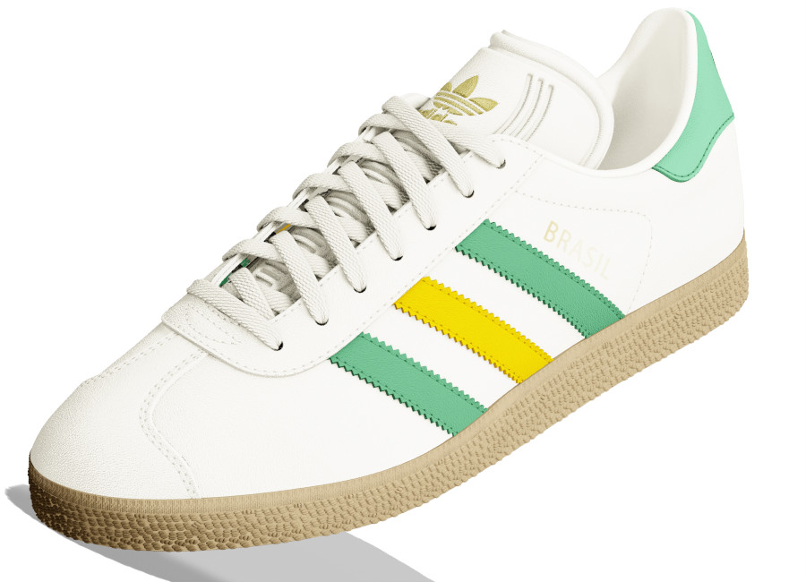 Adidas Mi Gazelle World Pack - Brazil