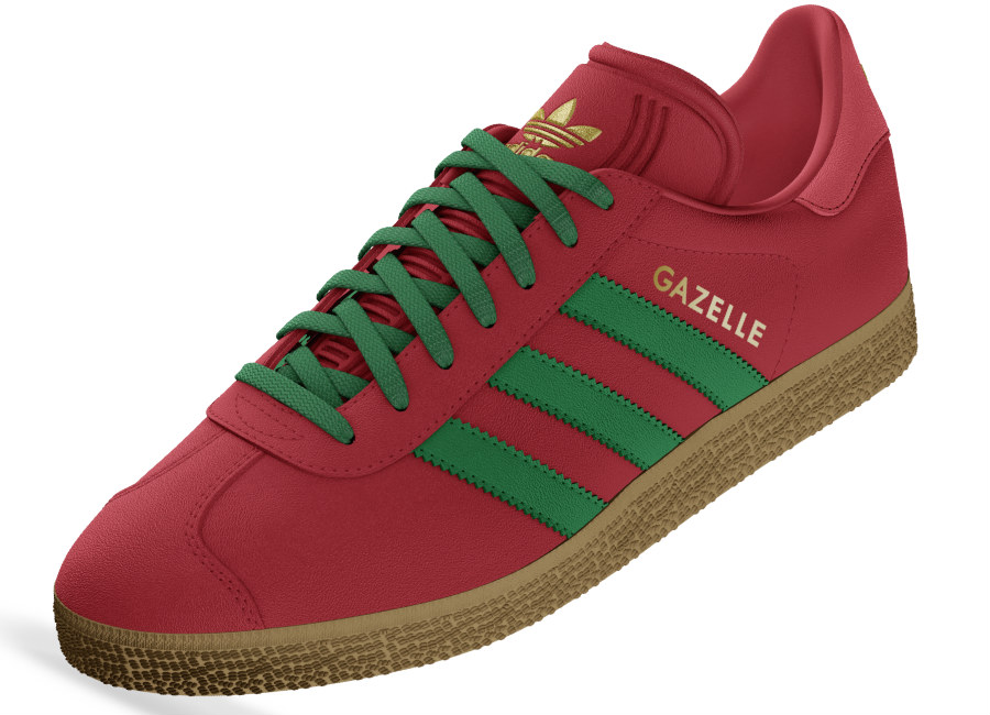 Adidas Mi Gazelle World Pack - Portugal