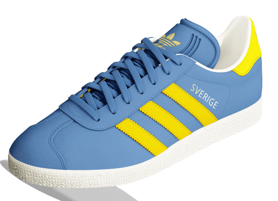 Adidas Mi Gazelle World Pack - Sweden
