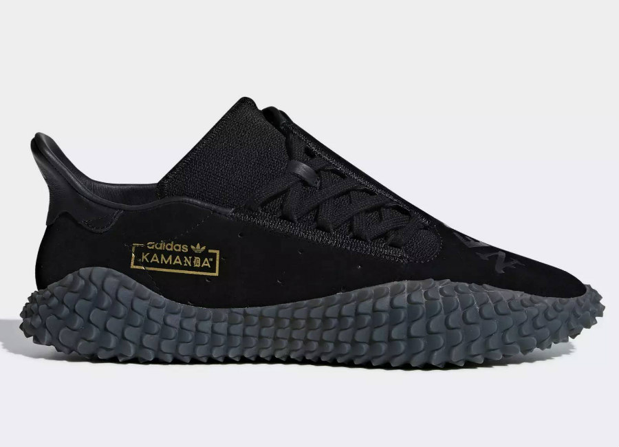 Adidas Neighborhood Kamanda 01 Shoes - Core Black / Core Black / Core Black