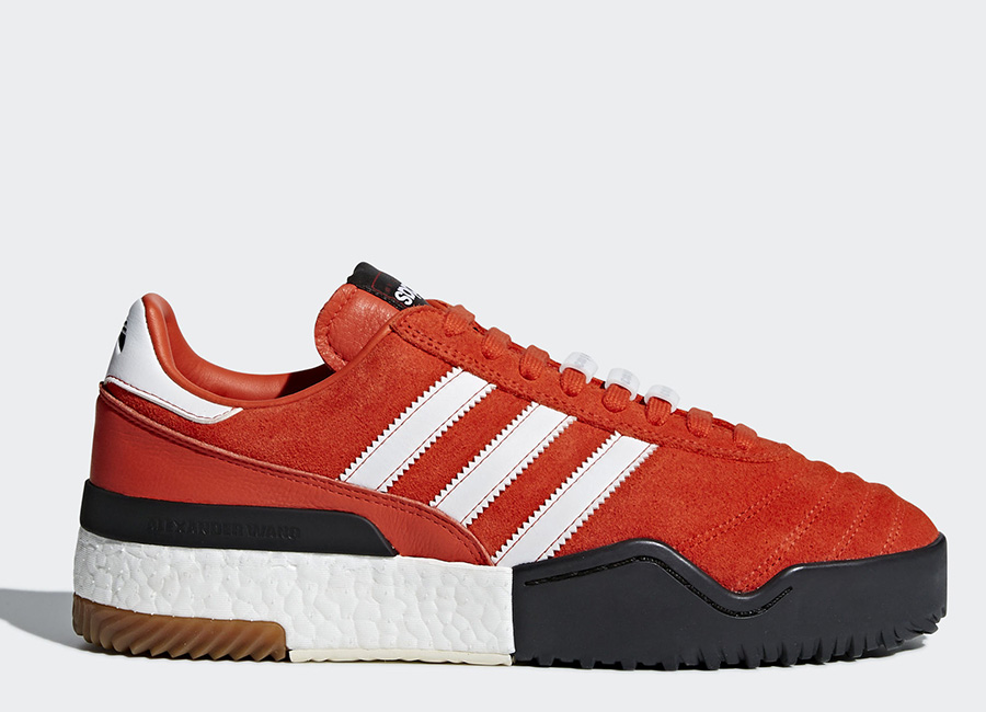 Adidas Originals By Alexander Wang Soccer Shoes - Bold Orange / Ftwr White / Core Black