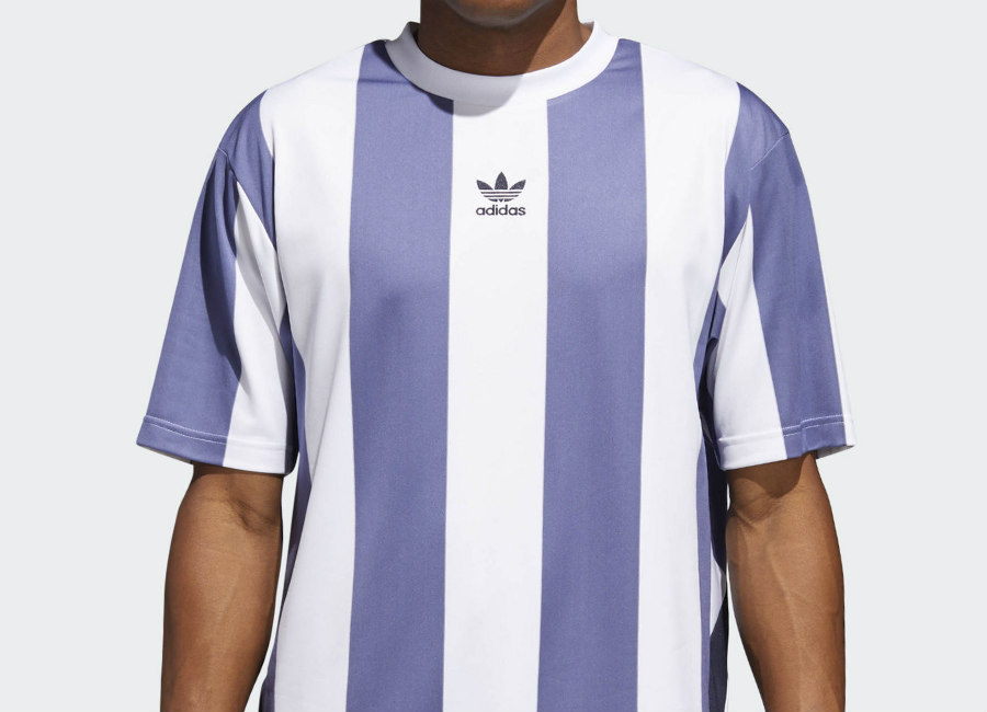 Adidas Rival Goalie Tee - Raw Indigo / White / Legend Ink