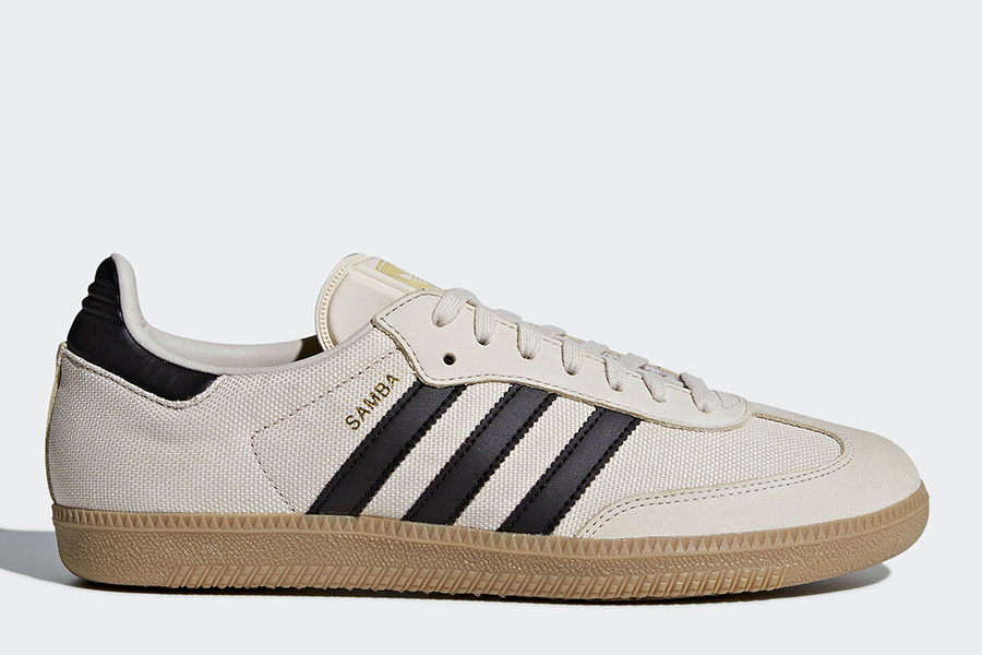 Adidas Samba OG Shoes - Clear Brown / Core Black / Gum