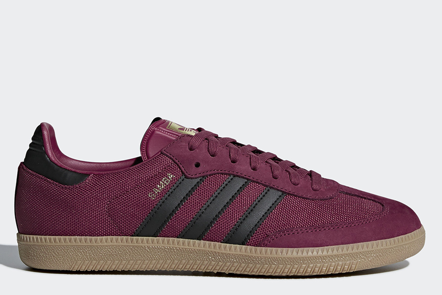 Adidas Samba OG Shoes - Mystery Ruby / Core Black / Gum