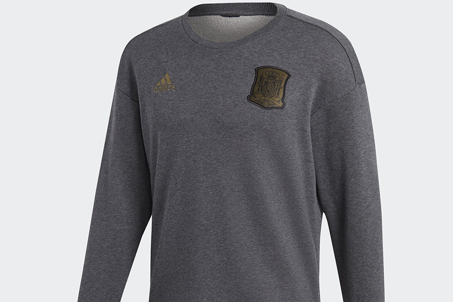 Adidas Spain Seasonal Special Sweatshirt - Dark Grey Heather