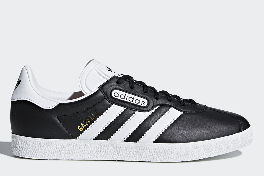 Adidas World Cup Gazelle Super Essential Shoes - Core Black / Ftwr White / Crystal White