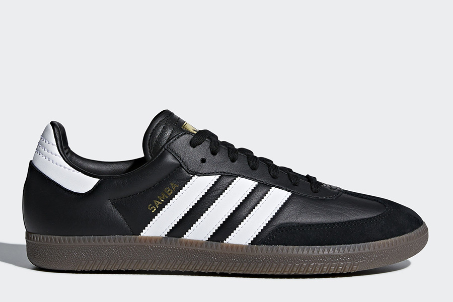 Adidas World Cup Samba FB Shoes - Core Black / Ftwr White / Core Red