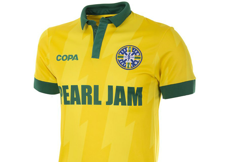 Brazil Pearl Jam X Copa Football Shirt