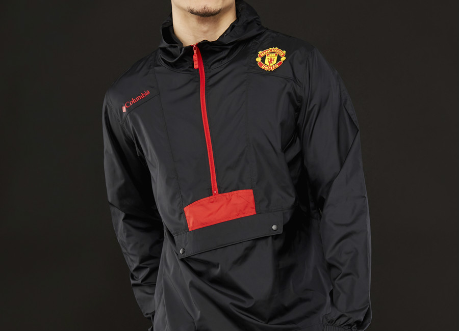 Columbia Manchester United Flashback Windbreaker - Black