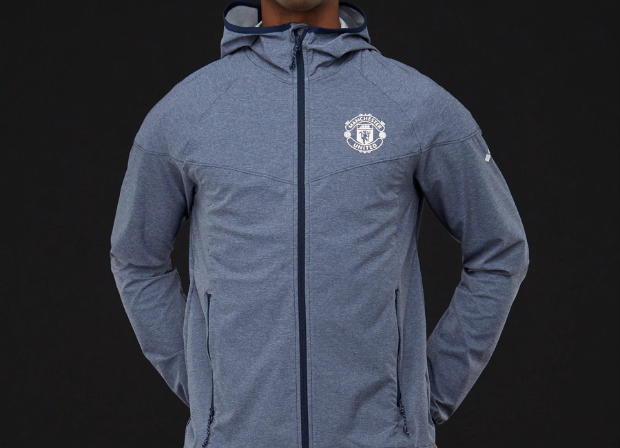 Columbia Manchester United Heather Canyon Jacket - Collegiate Navy