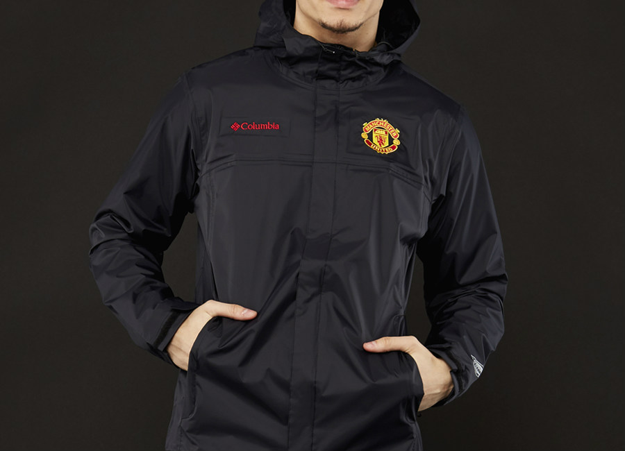 Columbia Manchester United Watertight II Jacket - Black