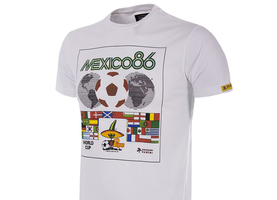 Copa Panini Heritage Fifa World Cup 1986 T-shirt - White