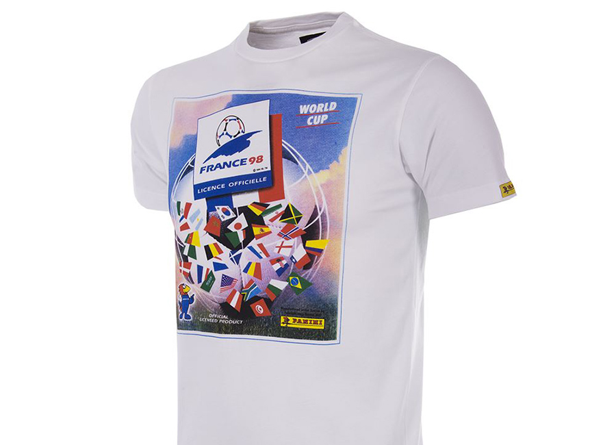 Copa Panini Heritage Fifa World Cup 1998 T-shirt - White