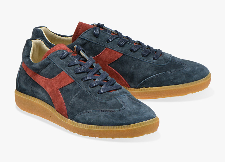 Diadora Football 80's Core 3 Evo - Blue Nights / Brick Red