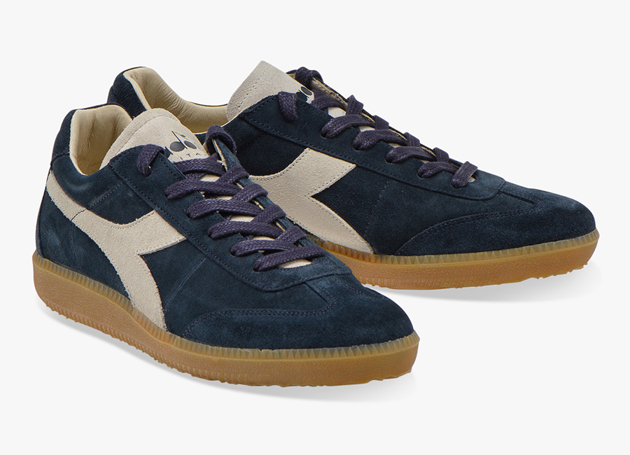 Diadora Heritage Football 80's Core 3 - Blue Denim