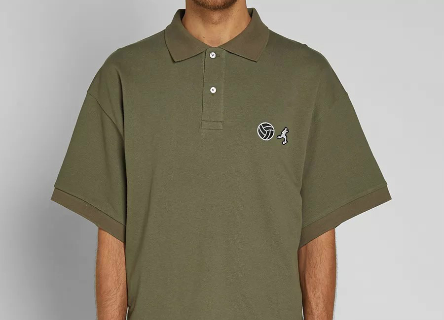 Gosha Rubchinskiy Football Polo - Green