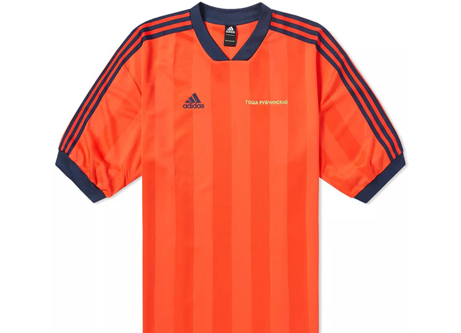 Gosha Rubchinskiy X Adidas Football Tee - Red
