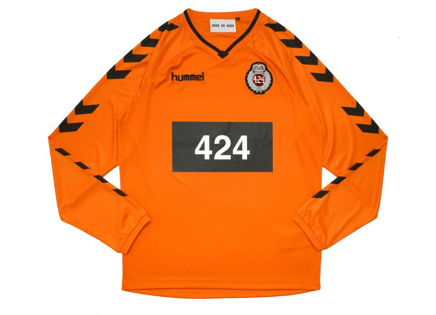 HML X 424 Football Jersey - Orange