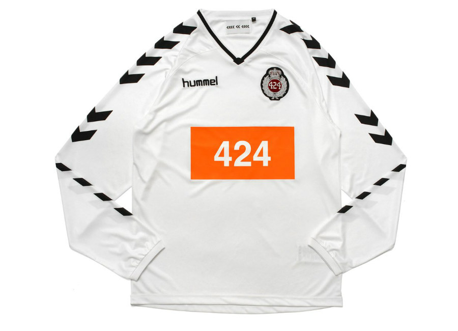 HML X 424 Football Jersey - White