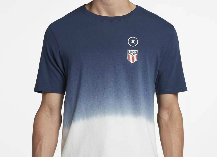 Hurley USA National Team T-Shirt - Obsidian