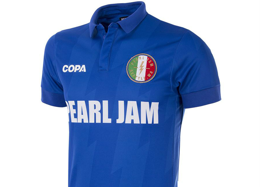 Italy Pearl Jam X Copa Football Shirt