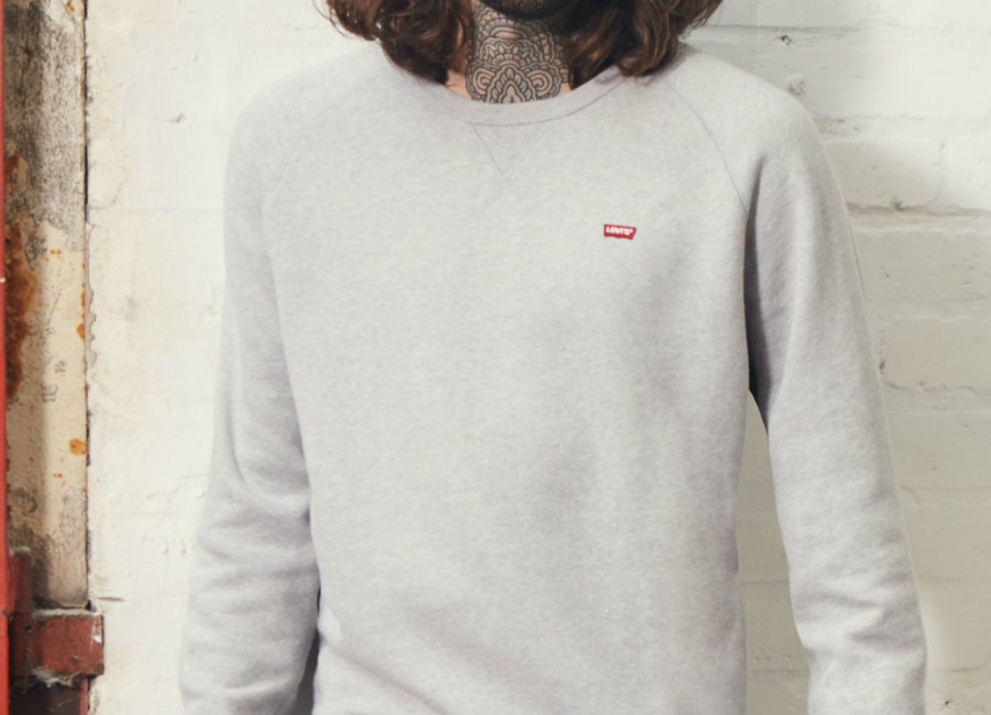 Levi's X LFC Icon Crew Sweatshirt - Grey Heather
