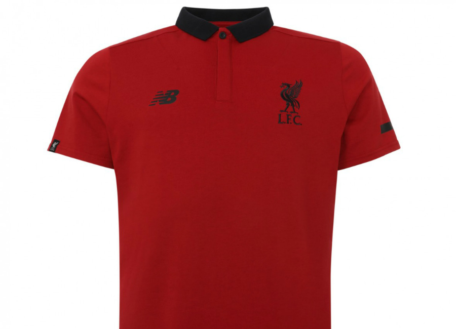 Liverpool 17/18 New Balance Red Sportswear Polo