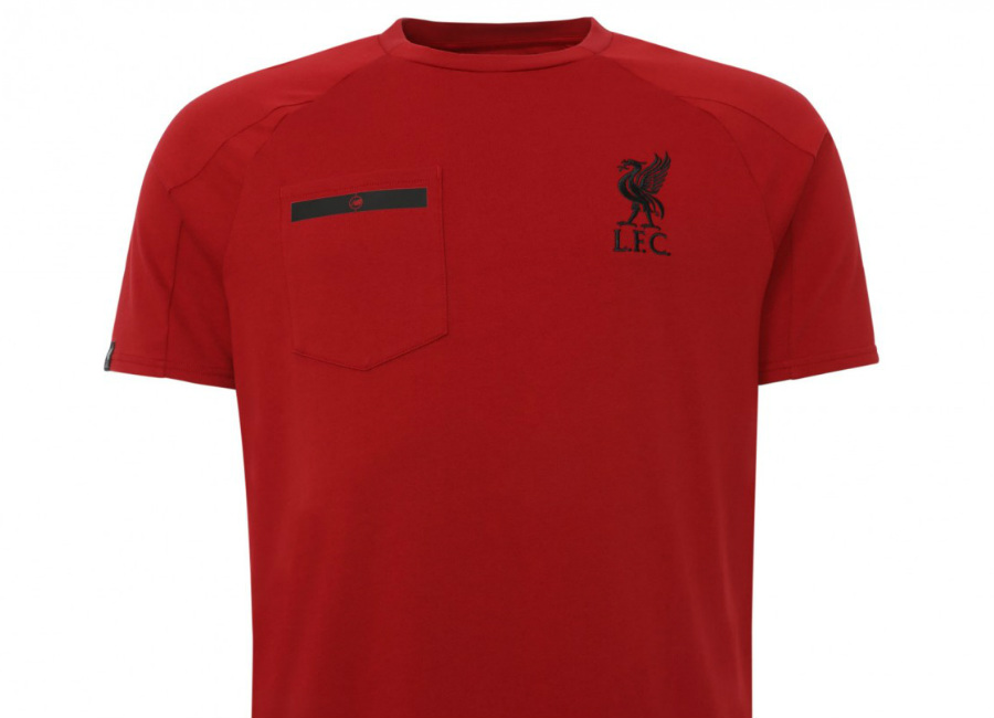 Liverpool 17/18 New Balance Red Sportswear Tee