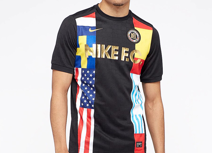 Nike F.C. Jersey - Black / Tour Yellow