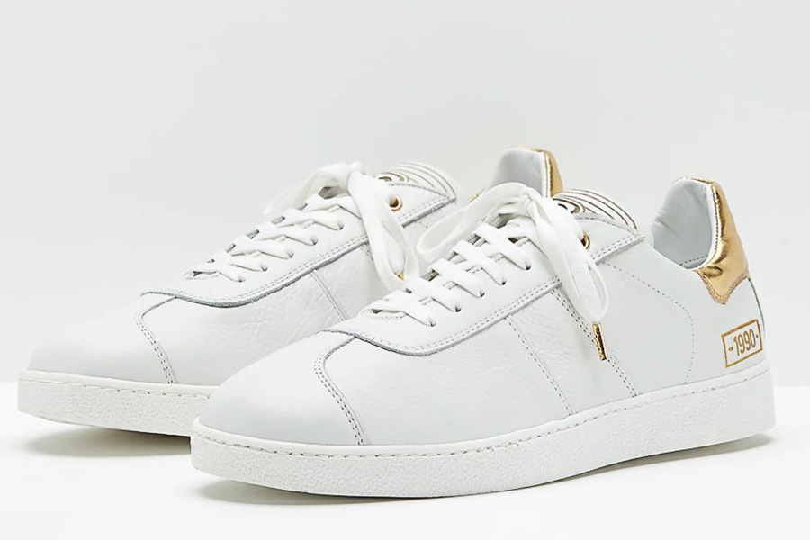 Pantofola dOro 1990 Leather Ltd - White / Gold