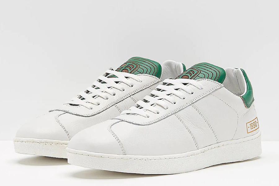 Pantofola dOro 1990 Leather - White / Green