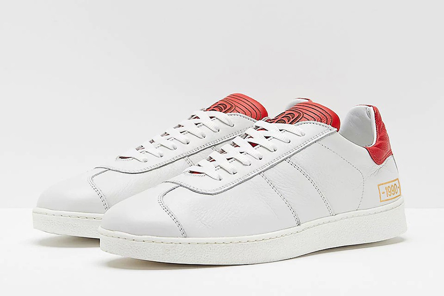 Pantofola dOro 1990 Leather - White / Red