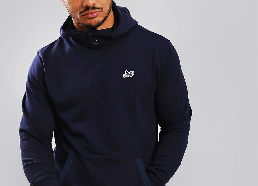 Peaceful Hooligan Wedgewood Hoodie - Indigo