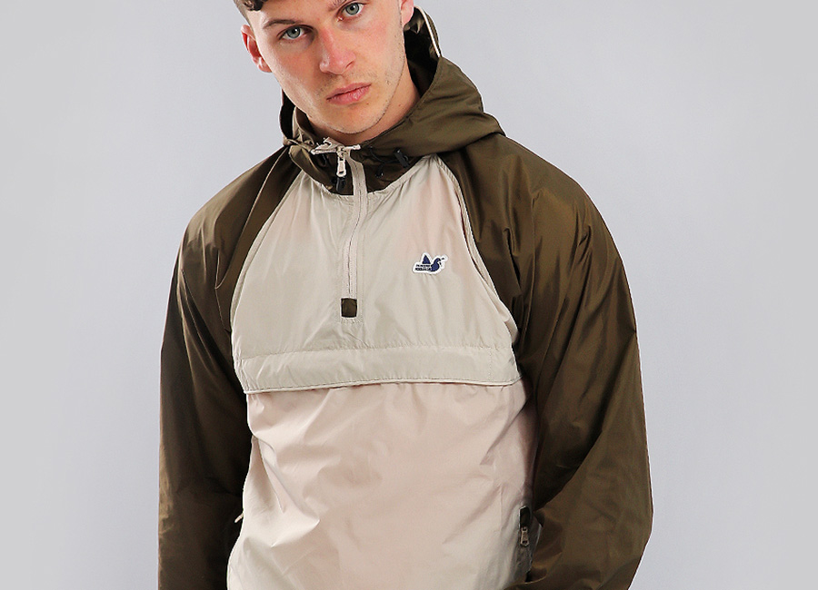 Peaceful Hooligan Weston Jacket - Stone / Khaki